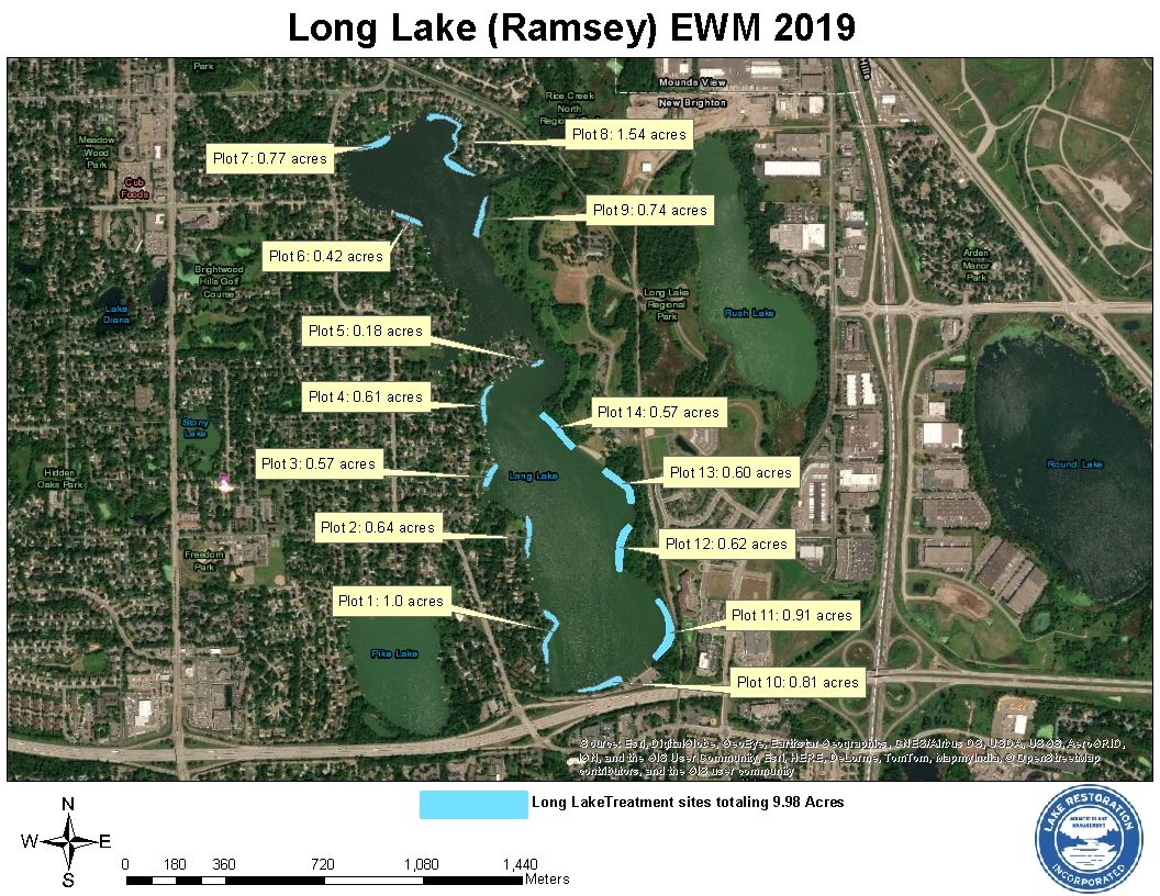 Long Lake Improvement Association - Public Notice: Milfoil Treatment